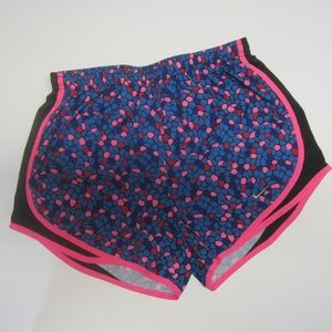 Colorful Nike Dry Fit Sports Shorts Small